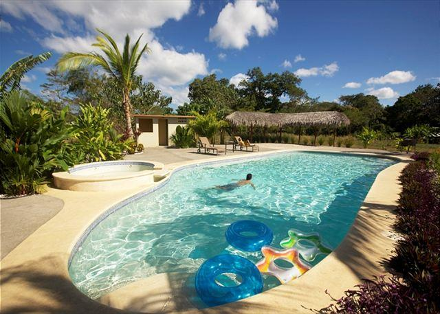 Pool Area - LUXURY CONDO 10 MINUTES FROM ALL BEACHES - Playa Grande - rentals