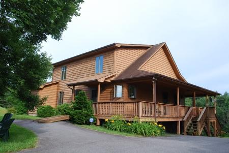 Another View - Blue Ridge Haven-Spacious Cabin with Privacy - Todd - rentals