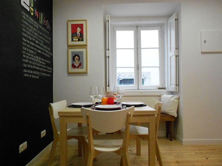 Living Room - Bright Apartment in Lisbon Historic Centre-Alfama - Lisbon - rentals