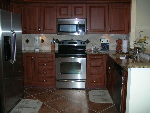 Kitchen - Gulfside Mid-Rise Unit 803D - Sarasota - rentals