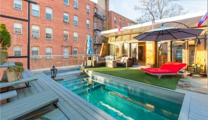 One of five outdoor areas - Amazing Pad from Celeb House Hunter - Washington DC - rentals