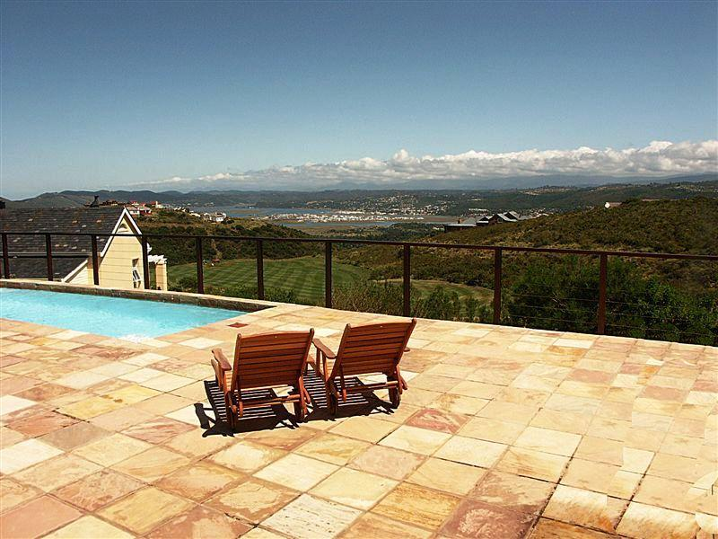 View from Patio  - House Majestic, Pezula Golf Estate in Knysna - Knysna - rentals