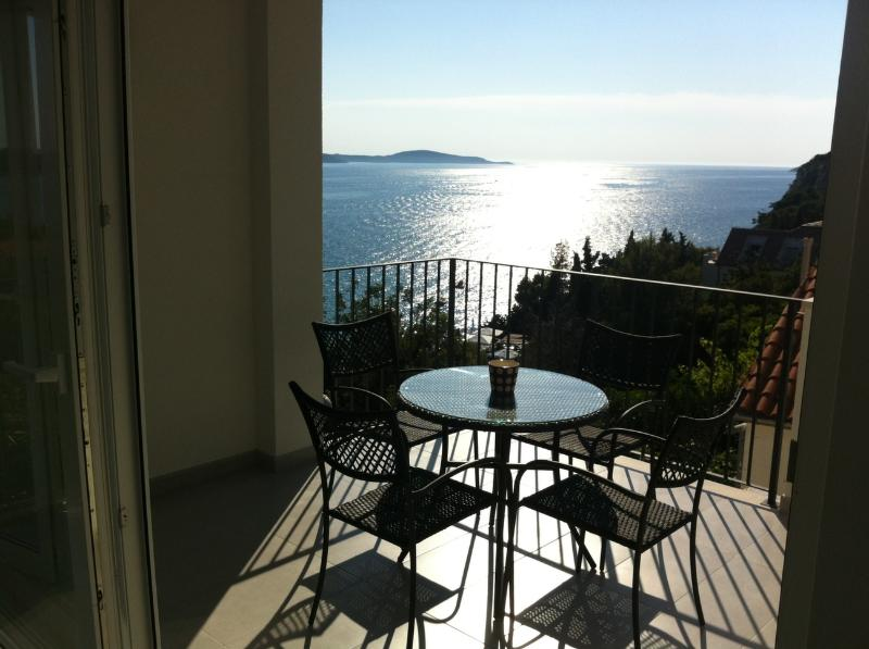 view from balcony - Blue Bay Residence - My Sunshine sea view apartment - Hvar - rentals