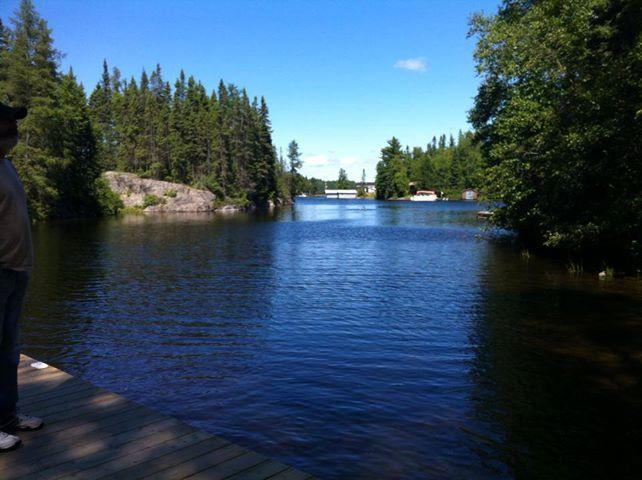 View fron the dock - Chez Chantal Retreat - Amos - rentals