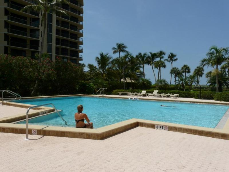 BEACHFRONT POOL  - THE PRINCE BEACHFRONT MARCO ISLAND FL CONDO - Marco Island - rentals