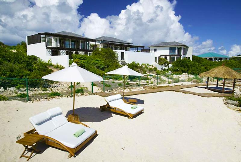 Anguilla Villa 16 Sitting On The South Shore, Anguilla Villa 16 Commands Stunning Views Of The Secluded Cove Beach And The Mountains Of St. Martin. - Image 1 - Little Harbour - rentals