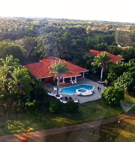 View from the air (whole property) - Villa Guavaberry Golf, Juan Dolio - Juan Dolio - rentals