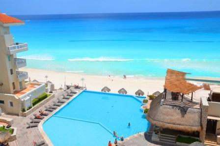 Your Pool and Beach - Super Apart in The best  beach - Cancun - rentals