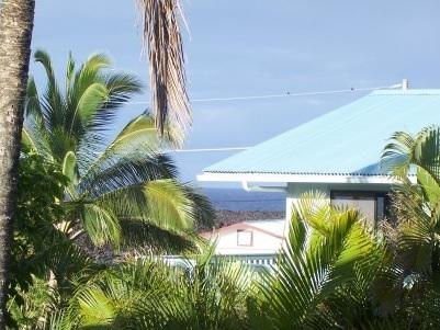 Ocean view from your private deck - Kapoho Tropical Sunrise Retreat - Kapoho - rentals
