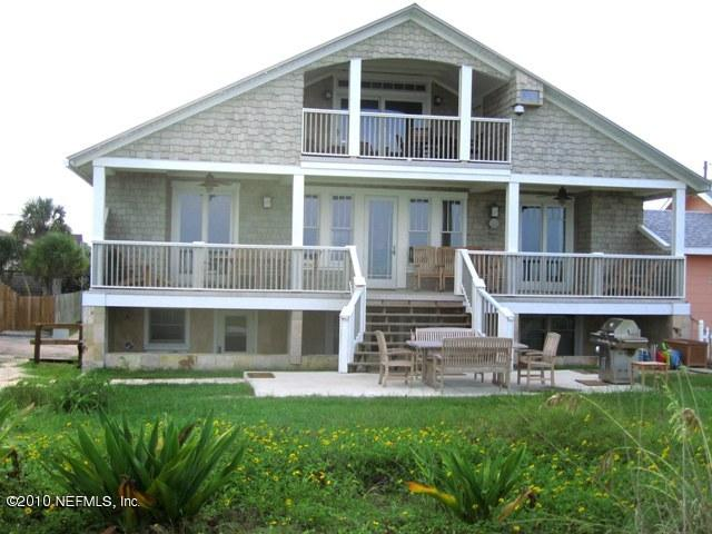1926 Craftsman Cottage - Total Renovated in 2006 - Rent Top 2 Floors (sleep 15) or 1st Fl ( sleep 6) - OceanFront like Pottery Barn - Piano/Billards - Saint Augustine Beach - rentals