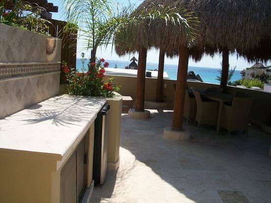 This could be your private Terrace - Wow - Ocean View Penthouse at Maya Villas Condos - Playa del Carmen - rentals