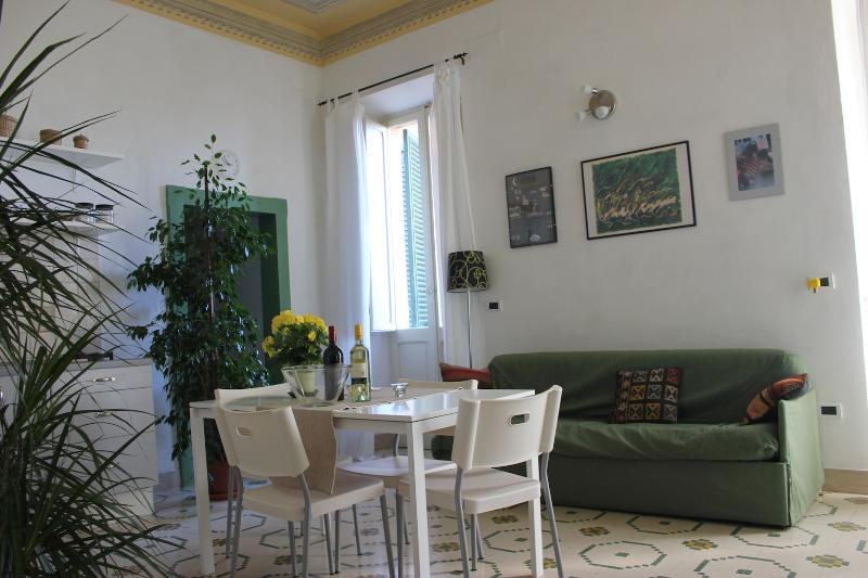 Living Room, main view - Spello Medioeval House Close Pintoricchio Frescos - Spello - rentals