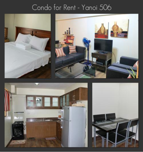2 Bedroom Condo - Yanoi 506 - Condo for Rent, 2 Bedroom, 1 Bath - Unit Yanoi 506 - Philippines - rentals