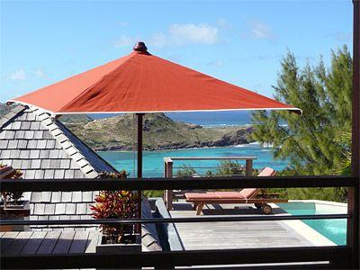 Baby Blue at Domaine du Levant, St. Barth - Ocean View, Walk To Beach, Gated Community - Image 1 - Petit Cul de Sac - rentals
