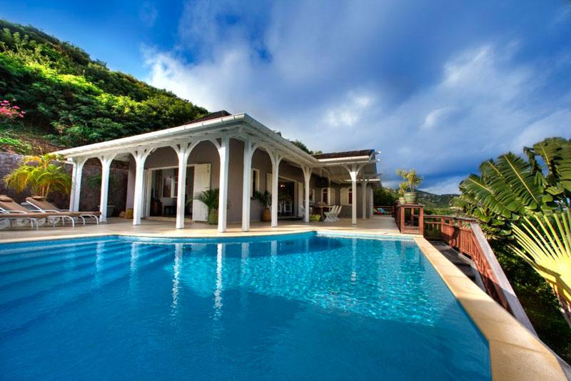 Lagon Jaune at Domaine du Levant, St. Barth - Ocean View, Walk To Beach, Pool - Image 1 - Petit Cul de Sac - rentals