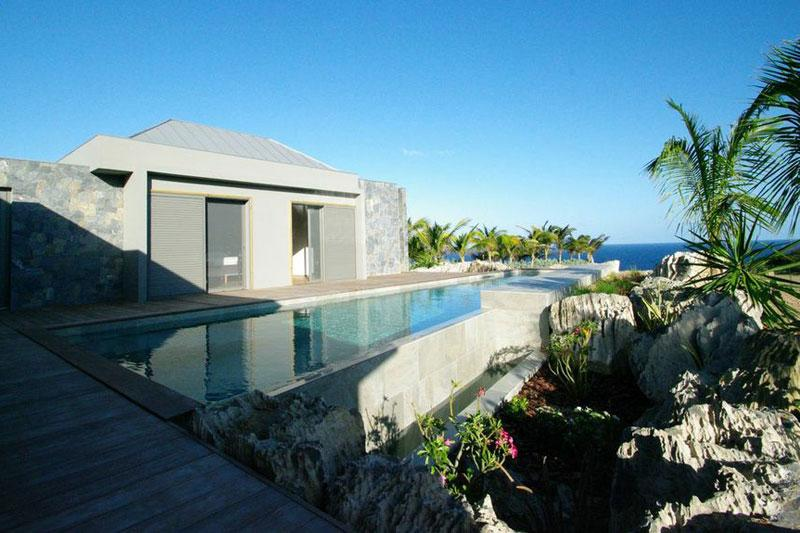 Lagon Vert at Domaine du Levant, St. Barth - Ocean View, Private, Contemporary Style - Image 1 - Petit Cul de Sac - rentals