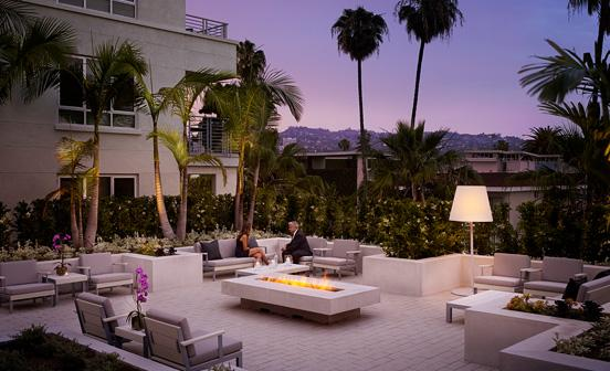 5* Two Bed Deluxe apartment Wilshire Boulevard LA - Image 1 - Beverly Hills - rentals