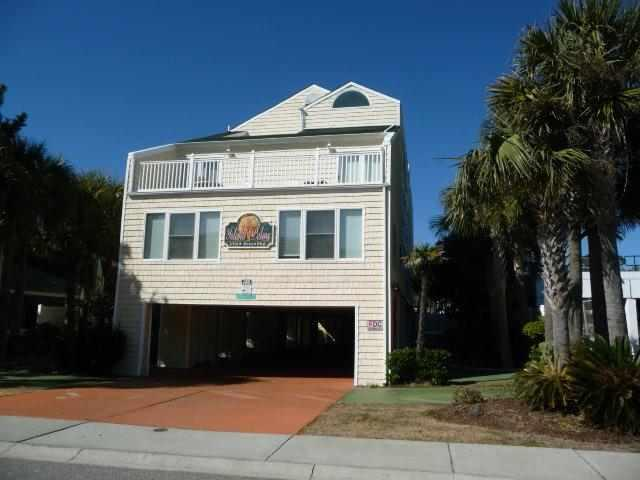 Island Palms building - Modern townhome, near beach, pool, great value!!! - North Myrtle Beach - rentals