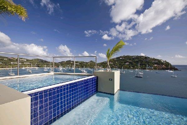 Beautiful oasis with views of the ocean and white sand beach. MAS FRI - Image 1 - Great Cruz Bay - rentals