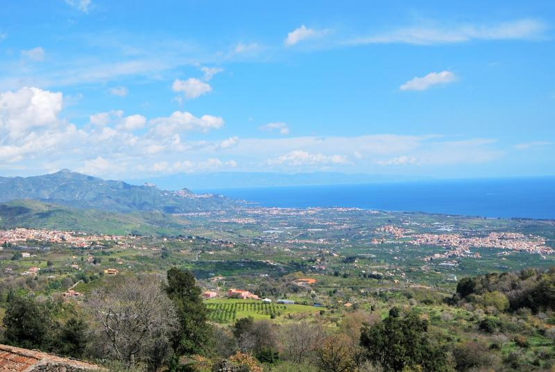 The view from The View, Sicily - The View, Sicily - Mascali - rentals