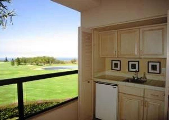 Lanai with Golf and Ocean Views - #WF A208 - Waikoloa Fairways A208 - Kailua-Kona - rentals