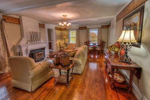 Osprey Manor Living Room Welcomes You... - Elegant  Lake-View Manor home Sleep 20 Family Fun! - Cayuga Lake - rentals