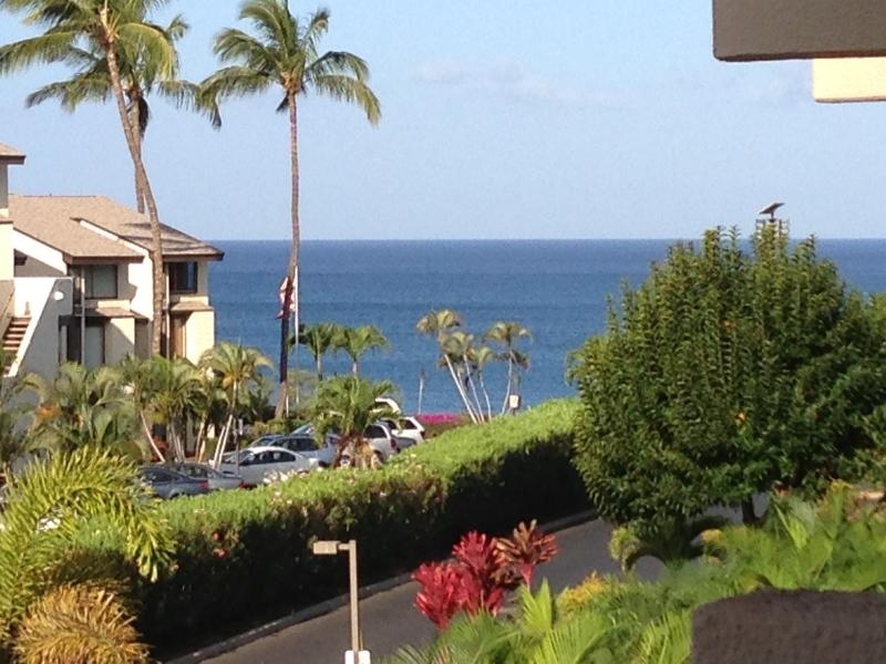 Your view from the Lanai down to the Ocean. - Great Location and Amenities! Sep/Oct/Nov Openings - Kihei - rentals
