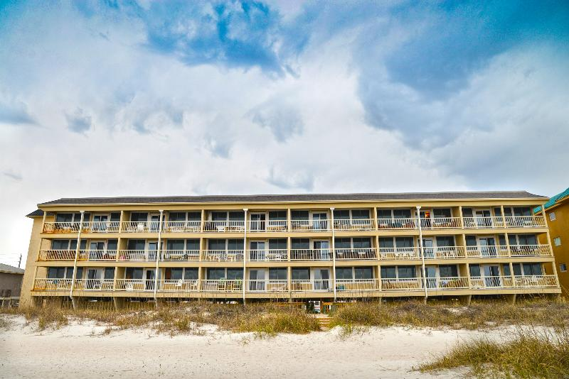 View of property from the beach - Coral Sands 306 - Fernandina Beach - rentals