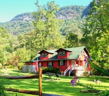 Spacious Cottage in gorgeous setting.  Walk to Chimney Rock Village. - Spacious Cottage Walking Distance to Chimney Rock - Chimney Rock - rentals