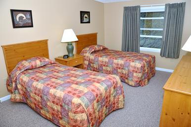 Bedroom - could make these as a  King Bed - The Lake Placid Club Lodges - Lake Placid - rentals