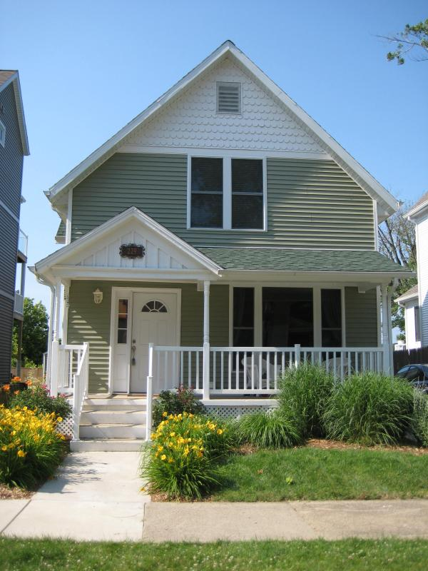 Front of Cottage - Simply South Haven!  2 Blocks from downtown SH - South Haven - rentals
