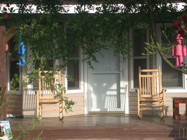 front porch - Allen Acres B and B - Pitkin - rentals