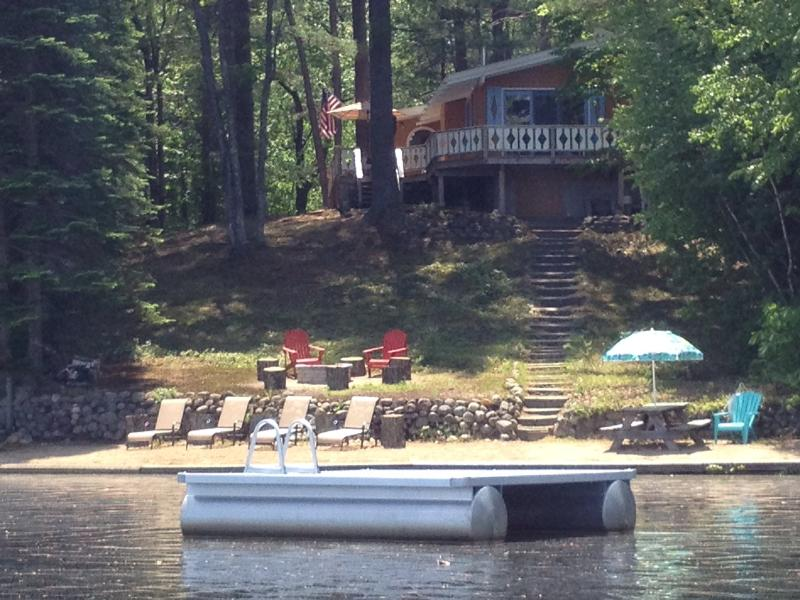Lakefront property with everything you need for outdoor fun! - Lakefront Chalet in Conway, N.H. - Conway - rentals