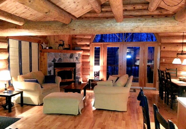 Canadian LOG HOME Close All *Wifi incl-3 bedrooms! - Image 1 - Mont Tremblant - rentals