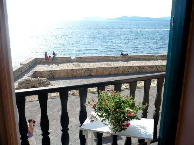 Sea view from balcony - Marina De Muralla - Alghero - rentals
