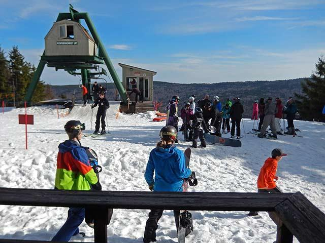 Top Of Powder Monkey Ski Lift from your front deck. - Powder Monkey 14: Ski to your door! 3 BR / 2 Bath - Snowshoe - rentals
