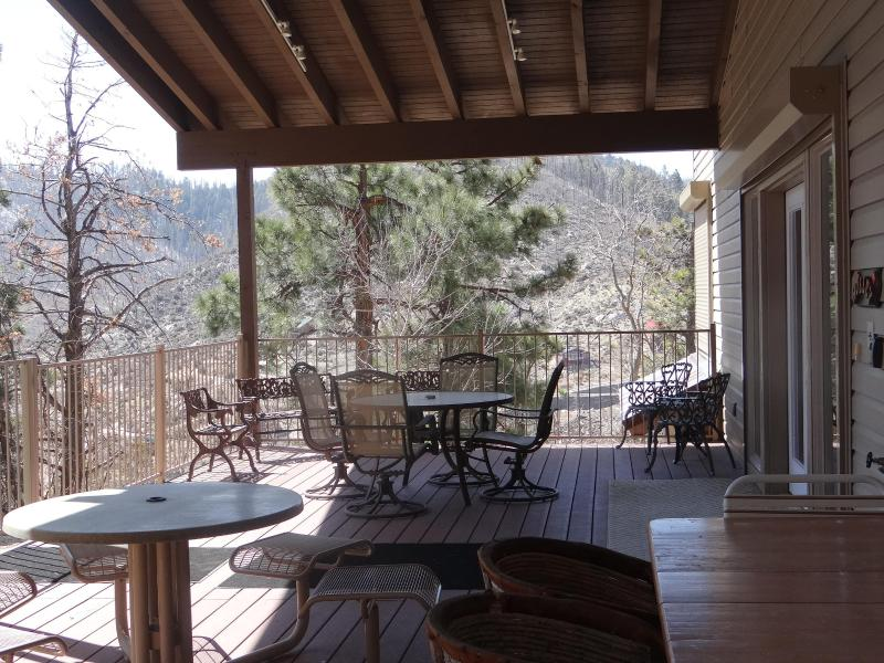 Relax on the over sized patio and enjoy the views - Sky island  getaway - Tucson - rentals