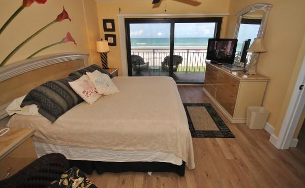 Master Bedroom - Endless Summer at Oceanfront Sandcastle - Ponce Inlet - rentals