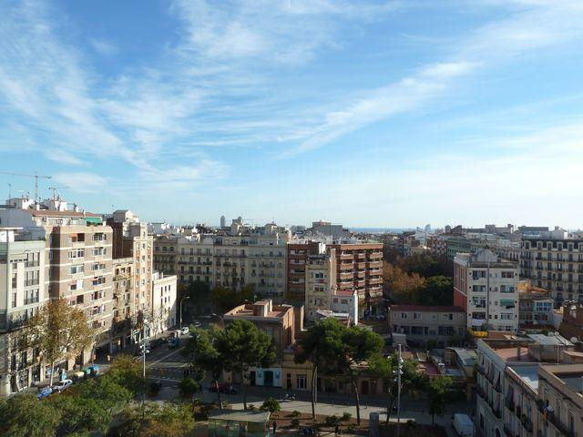 Unobstructed city and sea views from the terrace - Cetral penthouse with Barcelona stunning views - Barcelona - rentals