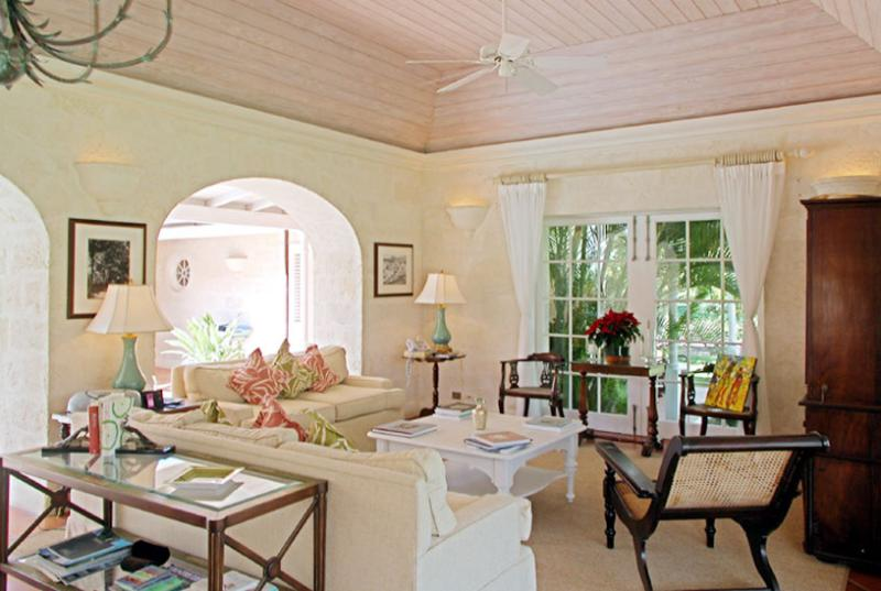 Barbados Villa 29 Located At The Corner Of The Holders Polo Field. - Image 1 - Saint James - rentals