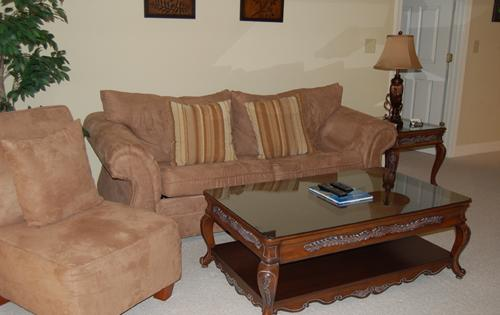 Comfortable Living Area - Beautiful 2BR villa, Grande Villas, great golf! - Myrtle Beach - rentals