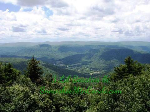 Summit Snowshoe balcony view - Mountain Top Adventures - Snowshoe - rentals