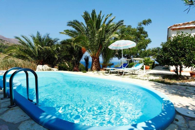 Pool - Fantastic villa with pool 150m from the sea - Scopello - rentals
