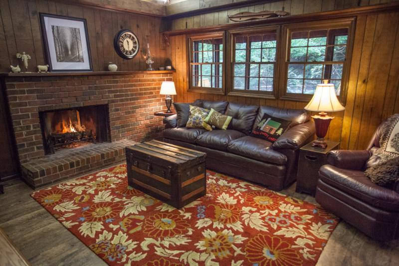 Satellite TV and Wi-Fi in Every Room!  - Trout Retreat- Cabin on a Rushing Creek - Ellijay - rentals
