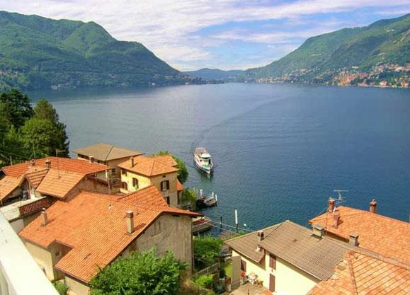 Villa Perla villa to rent  near Como on Lake Como - Image 1 - Pognana Lario - rentals