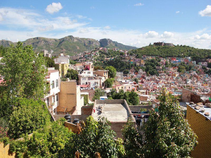 View - Gorgeous, romantic orchard home w/ views in Centro - Guanajuato - rentals
