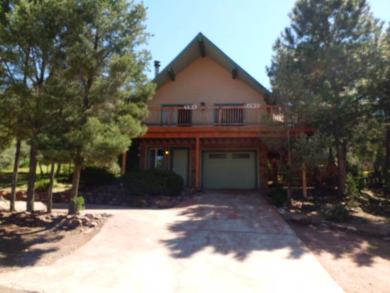 Front Chalet Face - Alpine House, Chalet with views in Payson Arizona - Payson - rentals