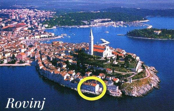 apartment-6 directly on the sea in Rovinj - Holiday Hinterreiter - Image 1 - Rovinj - rentals