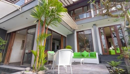 Decking  - Villa Naree, 2 bedroom house, Batubelig, Seminyak - Kuta - rentals