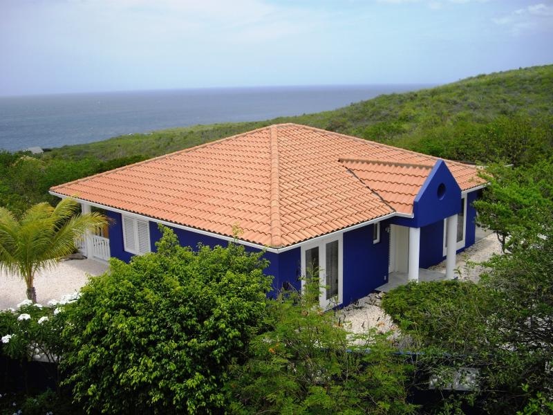 Vista Azul  - Vista Azul - Private villa with oceanview, pool, security and lots of privacy on resort Coral Estate Curacao - Curacao - rentals